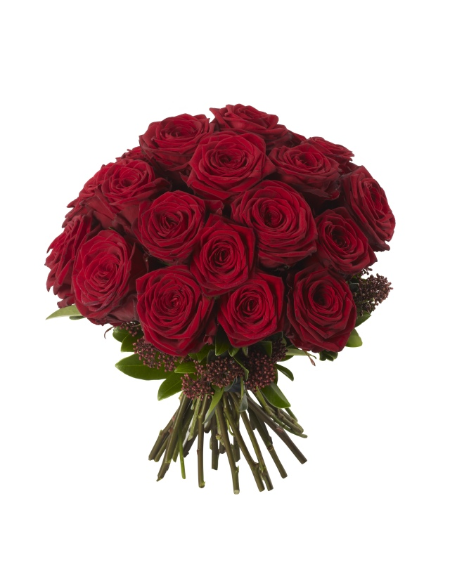 Lulet dhe kuptimi i ngjyrave te tyre  Red-Rose-Bouquet