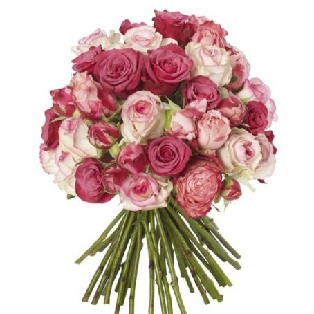 Shocking-Pink-and-Raspberry-Bouquet