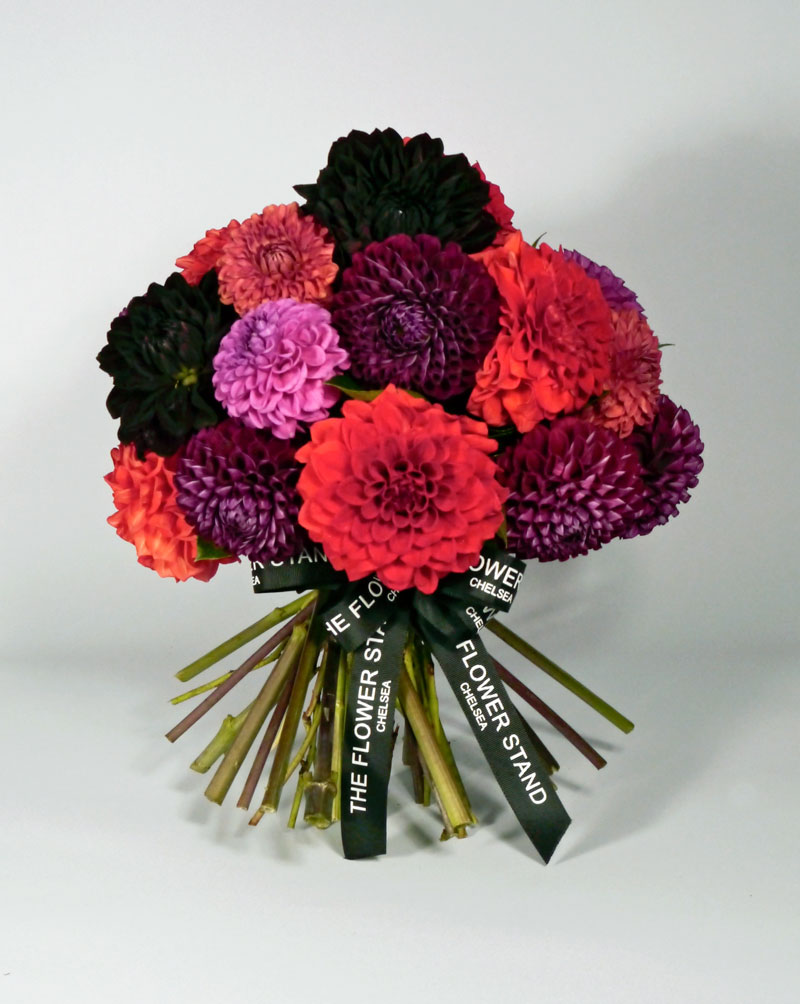 Summer flowers london summer wedding flowers luxury bouquets the luxury dahlia bouquet londons best florists izmirmasajfo Image collections