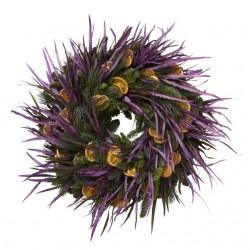 Purple Haze Christmas Wreath