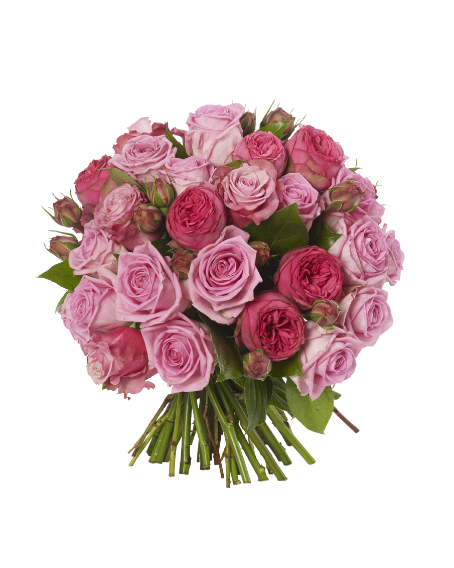 Luxury Pink Rose Bouquet | Luxury Flowers | Same Day Delivery