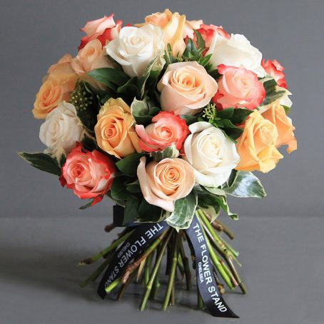 Ecuadorian Rose Luxury bouquet same day flowers London