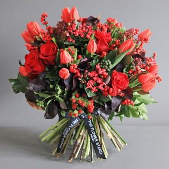 mixed autumnal bouquet