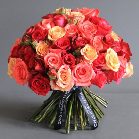 luxury rose bouquet london flower delivery