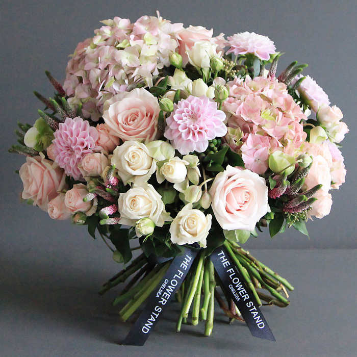 Soft pink autumn bouquet luxury flowers same day delivery mightylinksfo