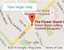 flower stand chelsea