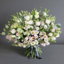 Mixed Lisyantus bouquet - luxury flowers