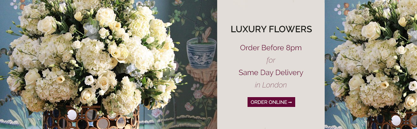 luxury flower delivery london