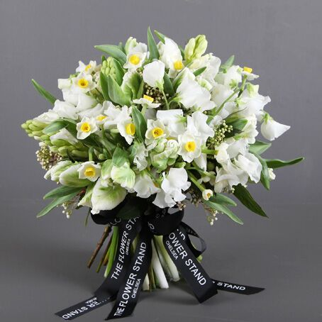 Spring Tulip and Narcisis Luxury Bouquet