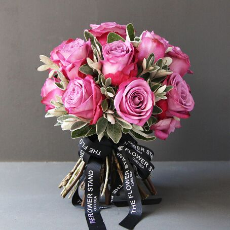 Luxury Pink Rose Bouquet same day london