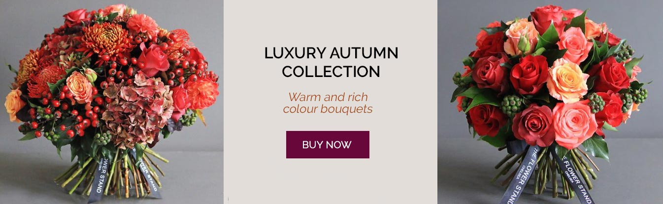 luxury autumn bouquets same day delivery london