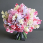 Luxury scented sweet pea bouquet