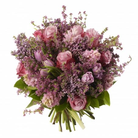 Lilac-and-Rose-Bouquet