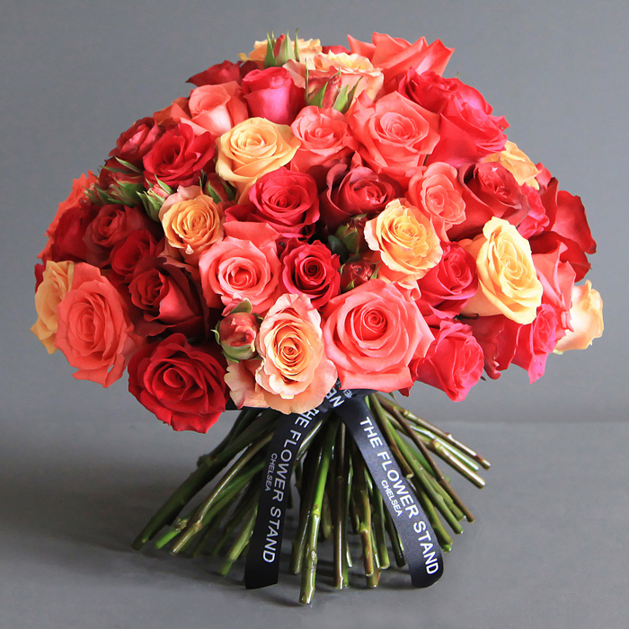 Pure Ecuadorian Roses Bouquet Same Day Luxury Flower Delivery