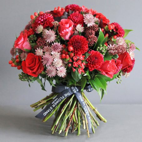 red rose bouquet luxury flowers london