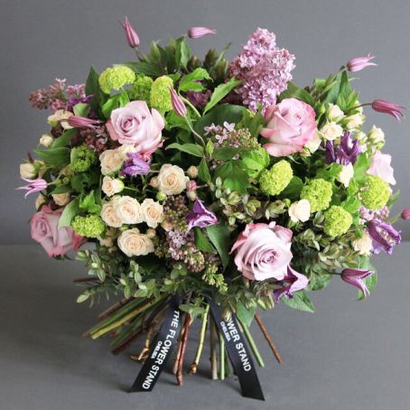 Romantic Flower Bouquet Delivery London The Flower Stand