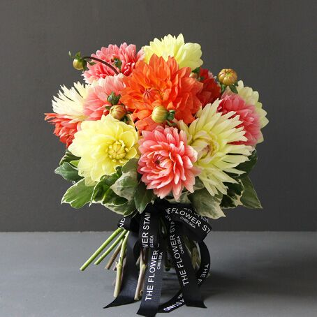 Vibrant Summer Dhalia Bouquet Luxury Flowers Online
