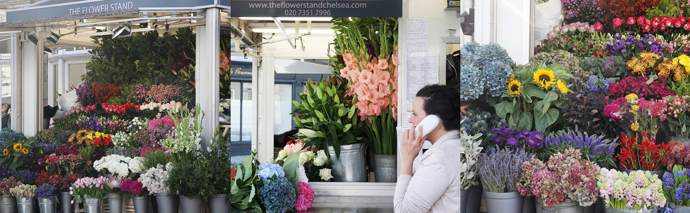 free same day luxury flowers london