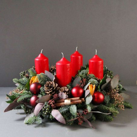 classic-advent-wreath-same-day-london