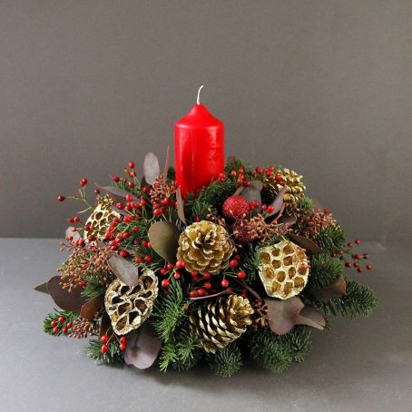 single-red-candle-advent-wreath