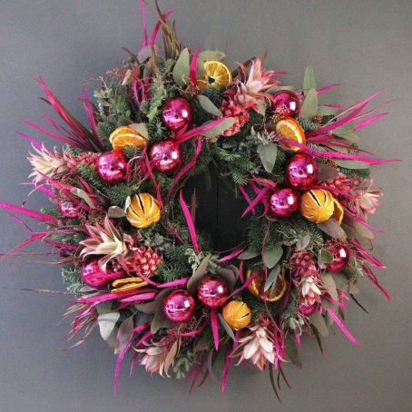 tropical-christmas-wreath