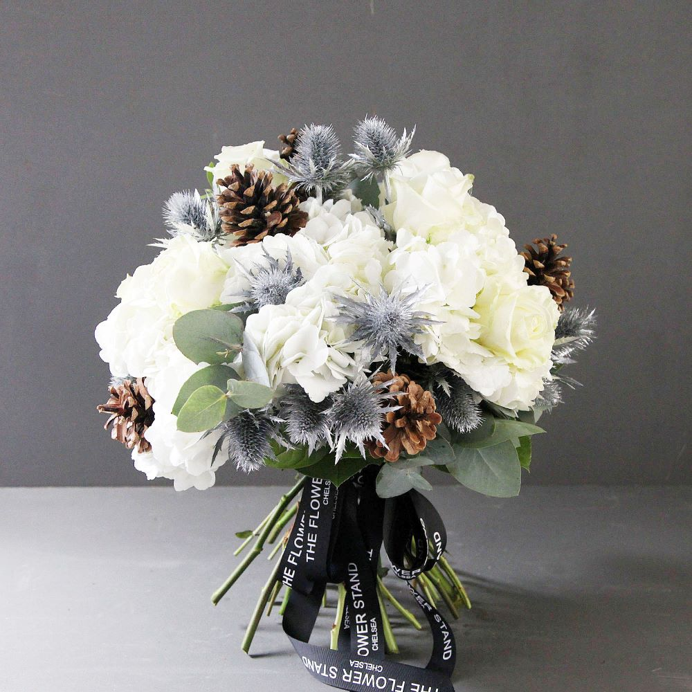 White Christmas Bouquet Same Day Gifts London Christmas Flowers