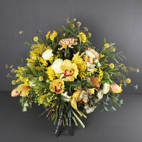 goddess-luxury-bouquet-vibrant-yellow-flowers