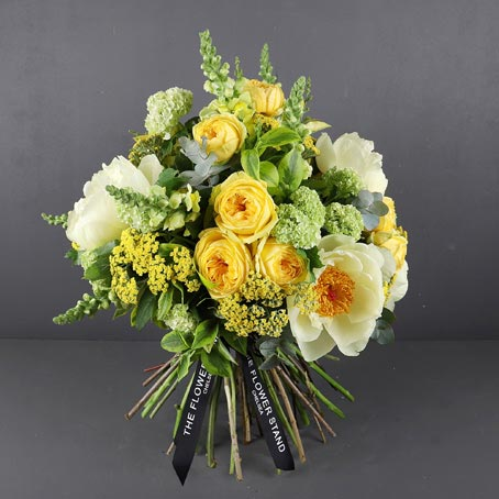 Yellow-mellow-luxury-bouquet
