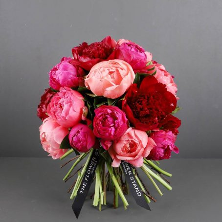 candy love peony bouquet designer peonies