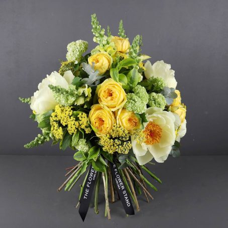 yellow mellow spring bouquet