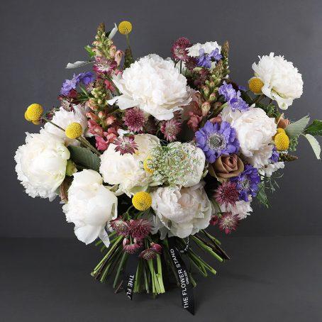 Luxury peony summer bouquet