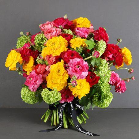 Ranunculus and Guelder Bouquet